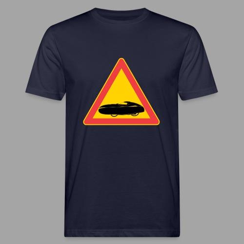 Traffic sign velomobile - Miesten luonnonmukainen t-paita