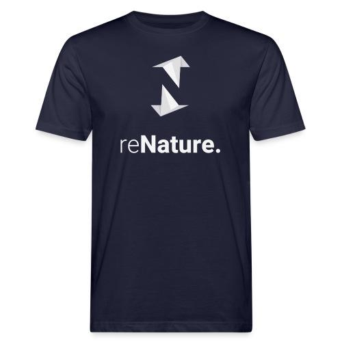 reNature T-Shirt - Mannen Bio-T-shirt