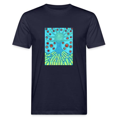 Drzewo I Planety - Ekologiczna koszulka męska