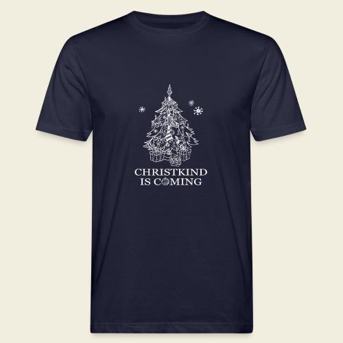 Christkind neu weiss - Männer Bio-T-Shirt