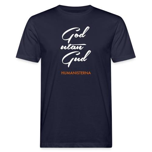 God utan Gud - Ekologisk T-shirt herr