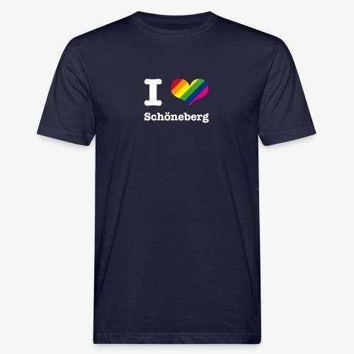 I love Schöneberg Rainbow - Männer Bio-T-Shirt