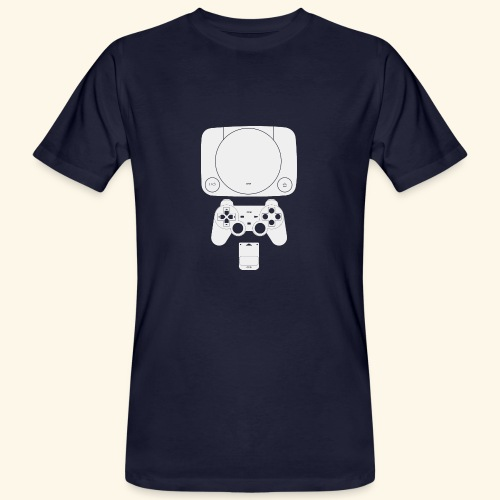 PS ONE Classic Console Design - Men's Organic T-Shirt