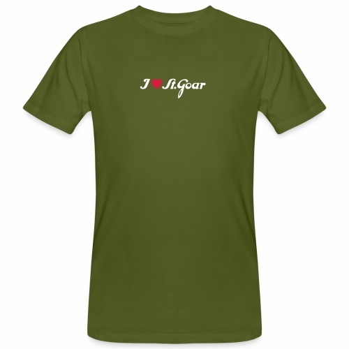 I Love St. Goar - Männer Bio-T-Shirt