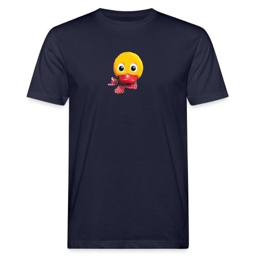 Schnatterinchen 3D - Männer Bio-T-Shirt