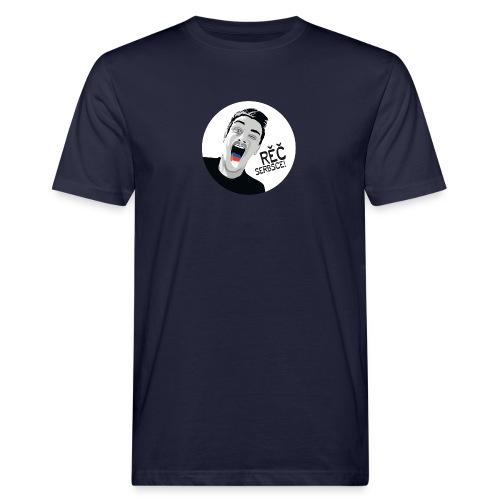RĚČ SERBSCE! - Männer Bio-T-Shirt