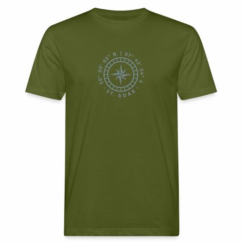 Kompass St. Goar - Männer Bio-T-Shirt