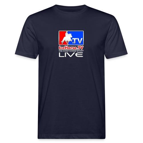 IceHorse logo - Men's Organic T-Shirt