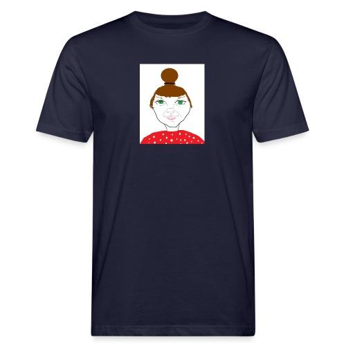 Bonny with a bun - Ekologisk T-shirt herr