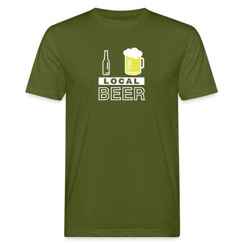 I Love Local Beer - Männer Bio-T-Shirt