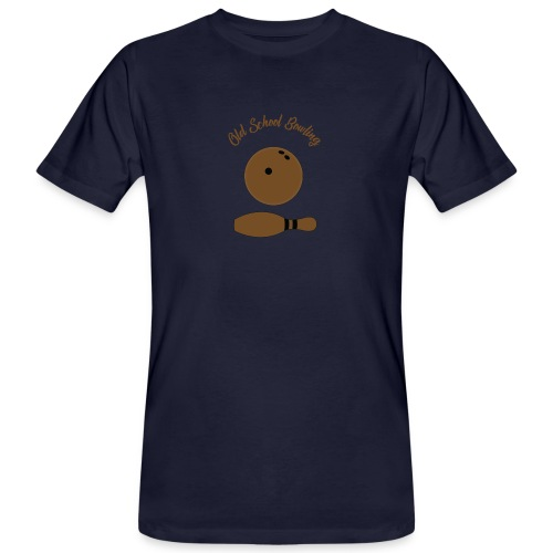 Old School Bowling - T-shirt bio Homme