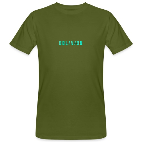 OBL/V/ON white - T-shirt ecologica da uomo