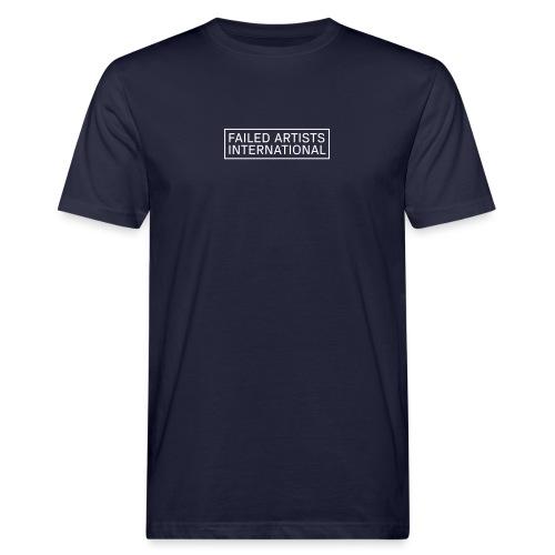 FAILED ARTISTS INTERNATIONAL Logo - Männer Bio-T-Shirt