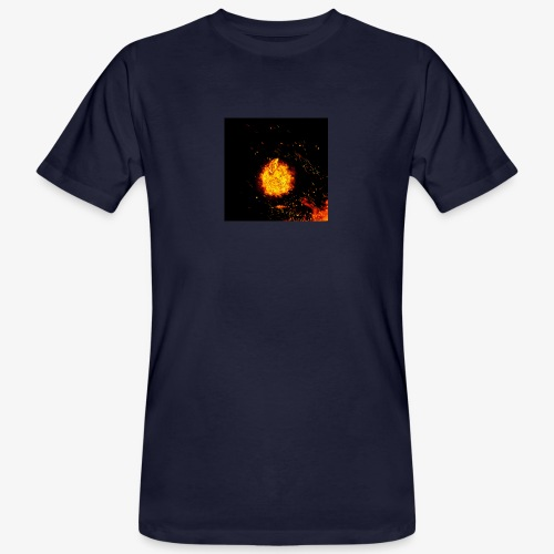 FIRE BEAST - Mannen Bio-T-shirt