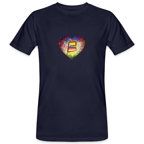Be a 70th Heart with that special Popper Hippie B - Men's Organic T-Shirt