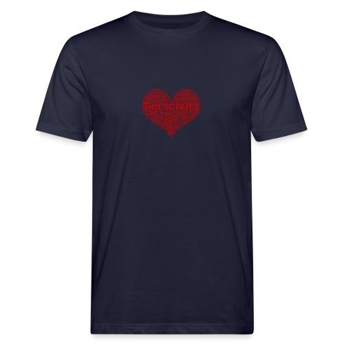Tierschutz - Männer Bio-T-Shirt