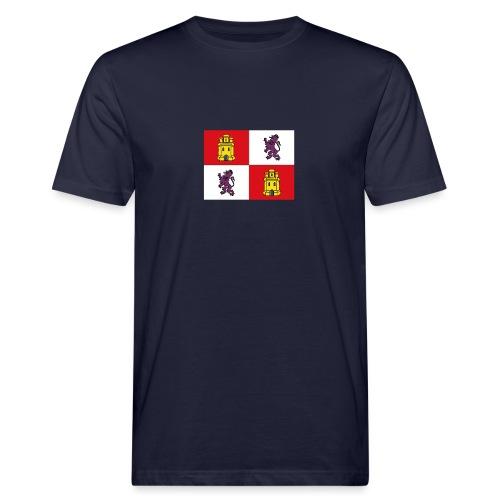 ESCUDO CASTILLA Y LEON - Camiseta ecológica hombre