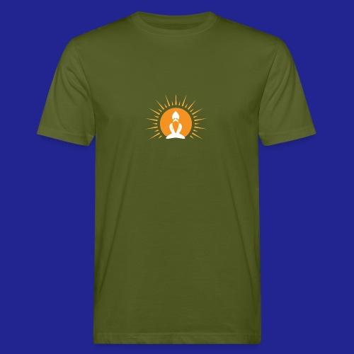 Guramylyfe logo white no text - Men's Organic T-Shirt