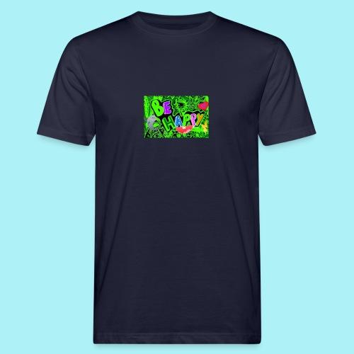Be happy - T-shirt bio Homme