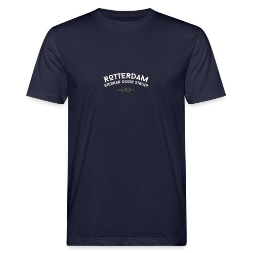 Rotterdam - sterker door strijd - Mannen Bio-T-shirt