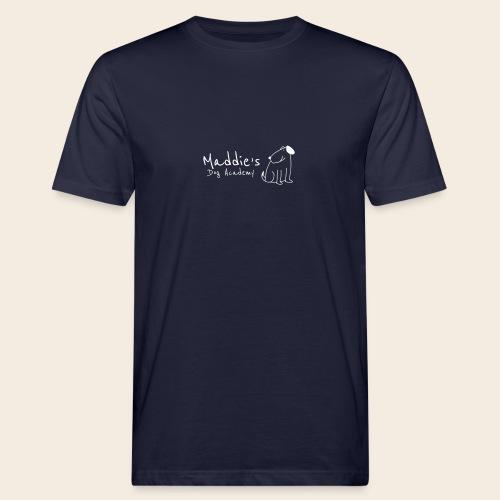Académie des chiens de Maddie (blanc) - T-shirt bio Homme