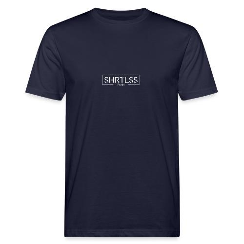 SHRTLESS Logoprint weiß - Männer Bio-T-Shirt