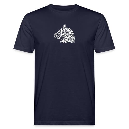 horse - cheval blanc - T-shirt bio Homme
