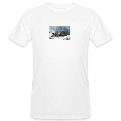 Mountains Colorized - Camiseta ecológica hombre