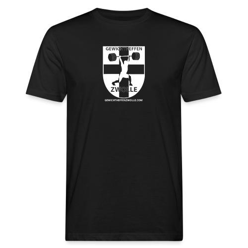 Bestsellers Gewichtheffen Zwolle - Mannen Bio-T-shirt