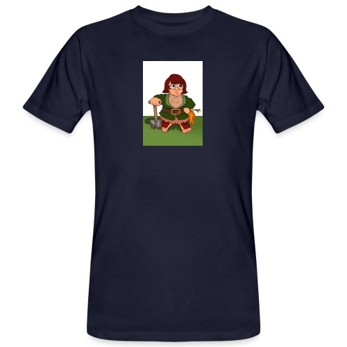 Petal's Potted Preserve - Men's Organic T-Shirt