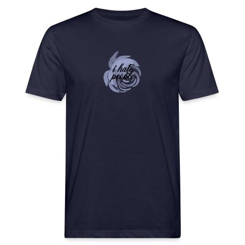 I Hate People Blue - Men's Organic T-Shirt