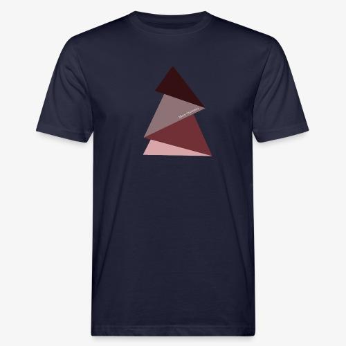 sapin triangles 2 - T-shirt bio Homme
