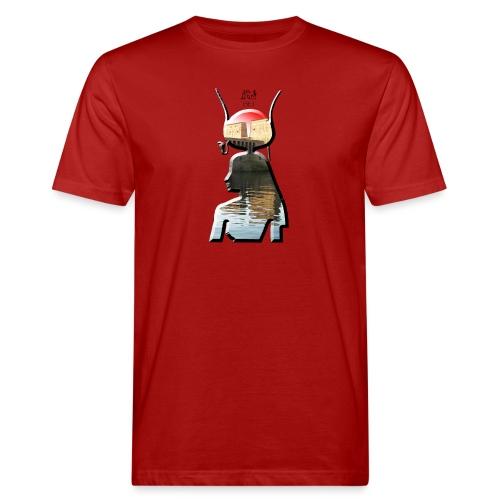 Göttin Iset (Isis) aus dem alten Ägypten - Männer Bio-T-Shirt