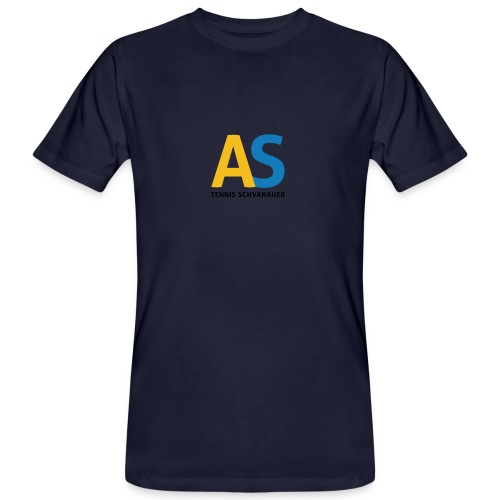 as logo - T-shirt ecologica da uomo