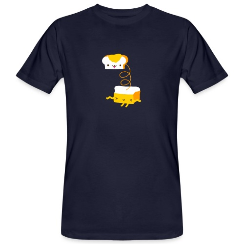 Cat sandwich gatto sandwich - T-shirt ecologica da uomo