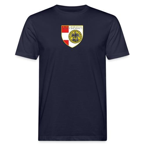 scudo simbolo comunità Valsesiana - T-shirt ecologica da uomo