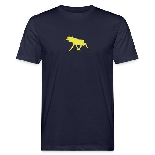 Schwedenelch; schwedisches Elch-Symbol (vektor) - Männer Bio-T-Shirt