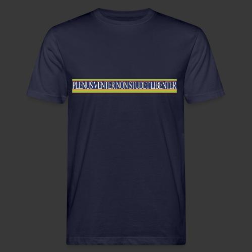 plv weiss - Männer Bio-T-Shirt