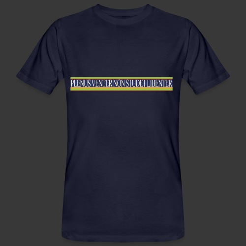 plv weiss - Mannen Bio-T-shirt