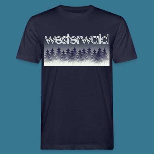 Mystischer Westerwald. - Männer Bio-T-Shirt
