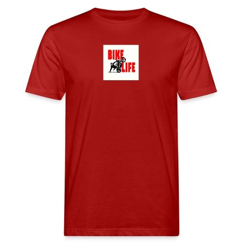 KEEP IT BIKELIFE - Men's Organic T-Shirt