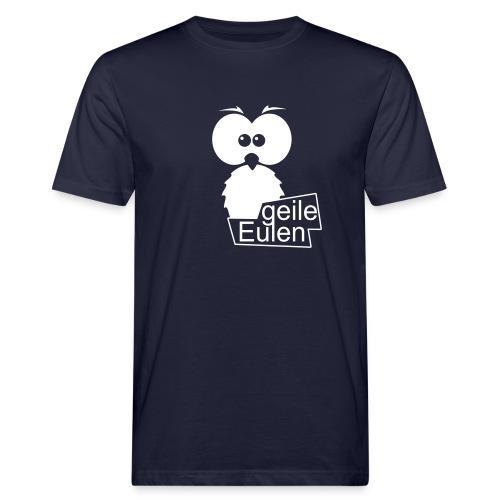 logo ohne schwarz - Männer Bio-T-Shirt