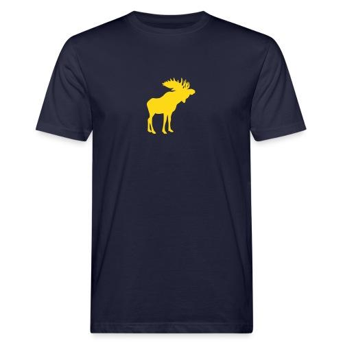 Stattlicher schwedischer Elch Älg Moose Schweden - Männer Bio-T-Shirt