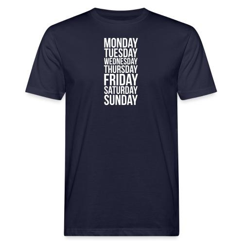 Days of the Week - Men's Organic T-Shirt