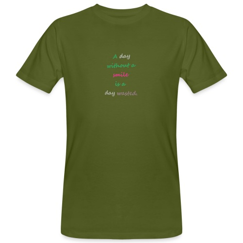 Say in English with effect - Men's Organic T-Shirt