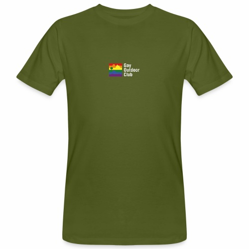 GOC Logo White Text - Men's Organic T-Shirt