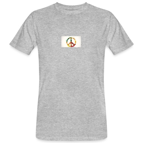 peace mok - Mannen Bio-T-shirt