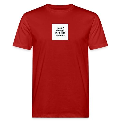 cap woes - Mannen Bio-T-shirt