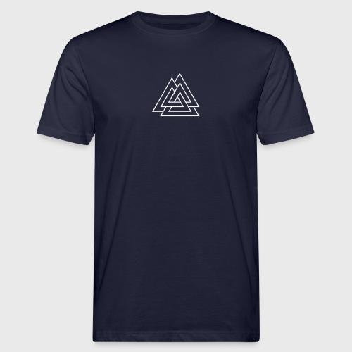 Trois triangles entrelacés - Illusion triangles - T-shirt bio Homme