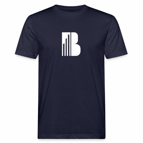 Bricks and the City (white logo) - T-shirt ecologica da uomo